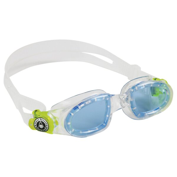MOBY KID getöntes Glas Farbe transparent/lime