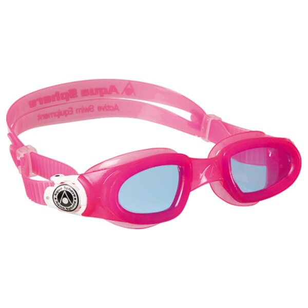 MOBY KID getöntes Glas Farbe pink/weiss