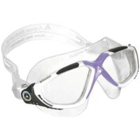VISTA LADY transparentes Glas Farbe weiss/lavendel