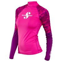 FLAMINGO Rash Guard Langarm Damen UPF50 Größe S