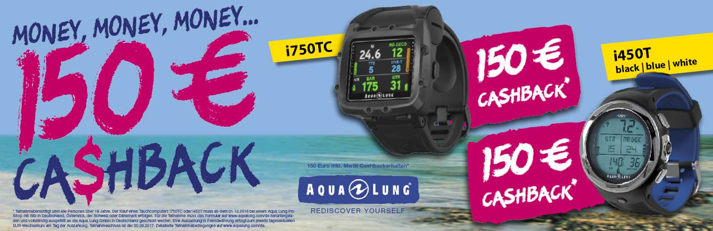 Aqua Lung Cash Back